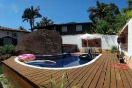 Casa para locação temporada  em Ilhabela/SP - Agua Branca REF:586